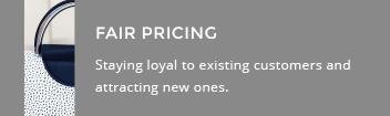 Fair pricing, Elegante Dronfield