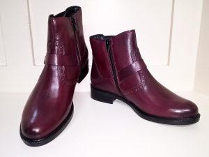 Bordeux Chelsea boots, Elegante Dronfield
