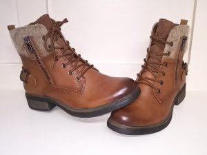 Cognac boots, Elegante Dronfield