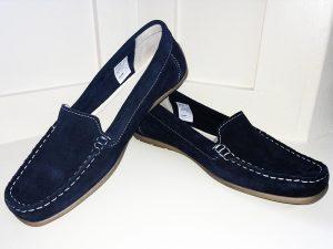 Marinho suede shoes 3951, Elegante Dronfield