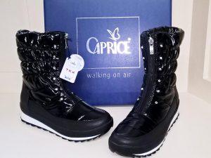 Black snow boots, Elegante Dronfield
