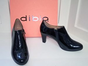 Kafir black shoes, Elegante Dronfield