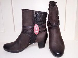 Mocca ankle boots, Elegante Dronfield