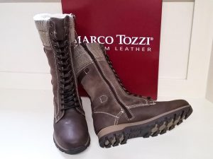 Mocca ant comb boots, Elegante Dronfield