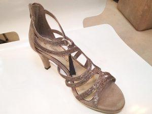 Marco Tozzi Rose Gold Sandal, Elegante Dronfield