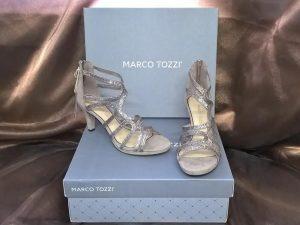 Marco Tozzi Silver Sandal, Elegante Dronfield