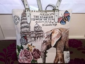 Sangrila Bag - Elephant, Elegante Dronfield