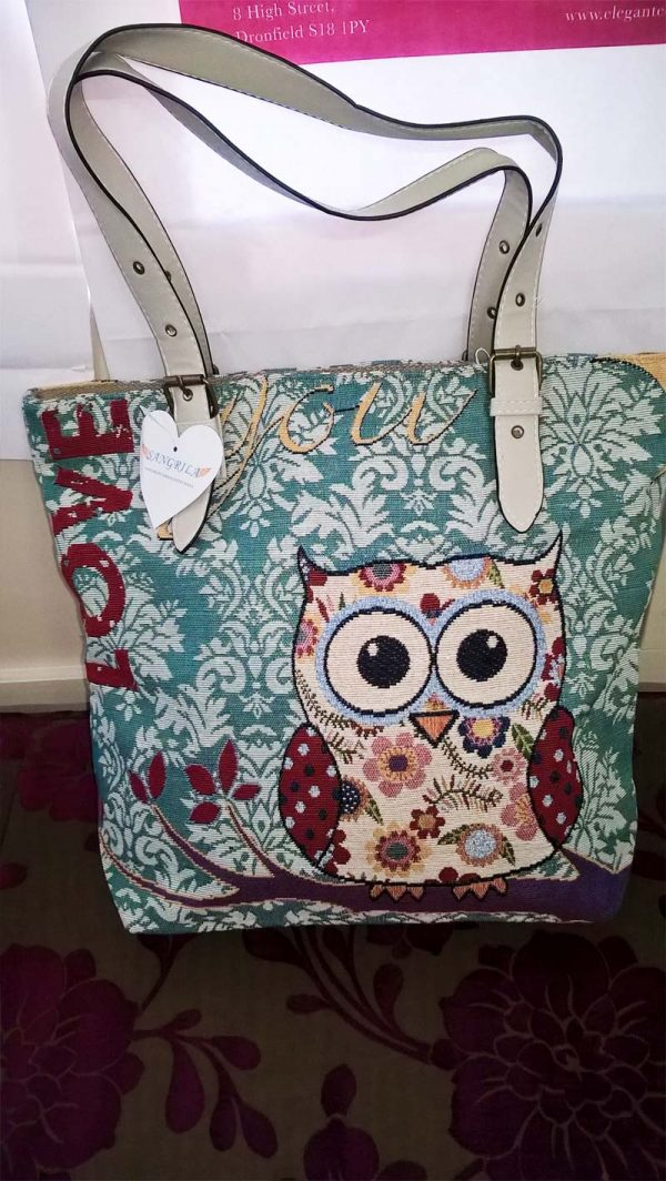 Sangrila Bag - Love Owl, Elegante Dronfield