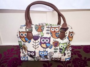 Sangrila Bag - Owls, Elegante Dronfield